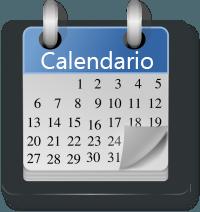 calendario, escribir, corrección