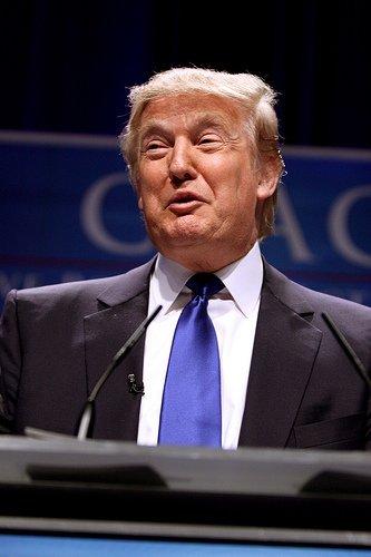 Donald Trump, ortografía